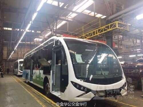 金华BRT3号线涂装 民生民情 Powered by CNYW.NET图片