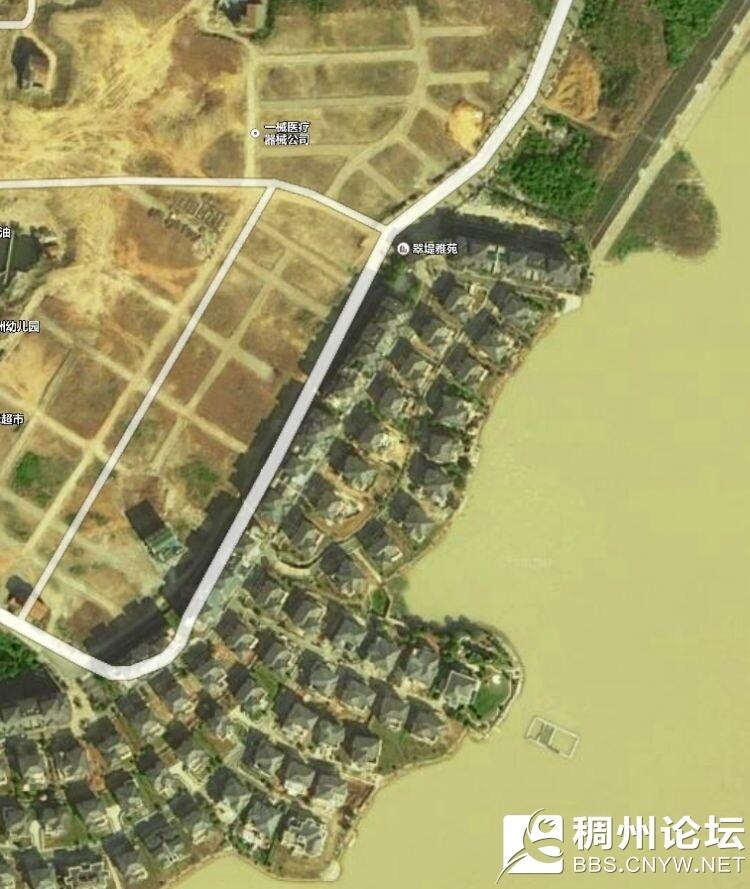 黎明湖翠堤雅苑卫星图