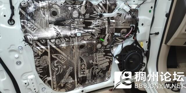 8 德国伊顿172.2两分频套装中低音单元安装在汽车原位置.jpg